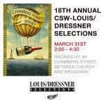 18th annual CSW - Louis/Dressner Selections tasting