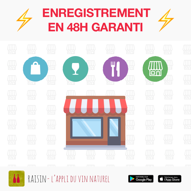 ✋CAVES, BARS, RESTAURANTS:⚡ ENREGISTREMENT EN 48H ⚡