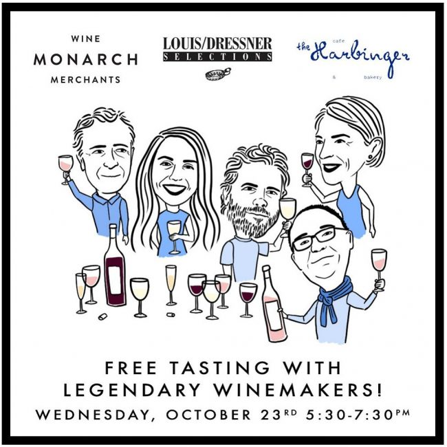 Monarch Free Tasting with Legenday Winemakers