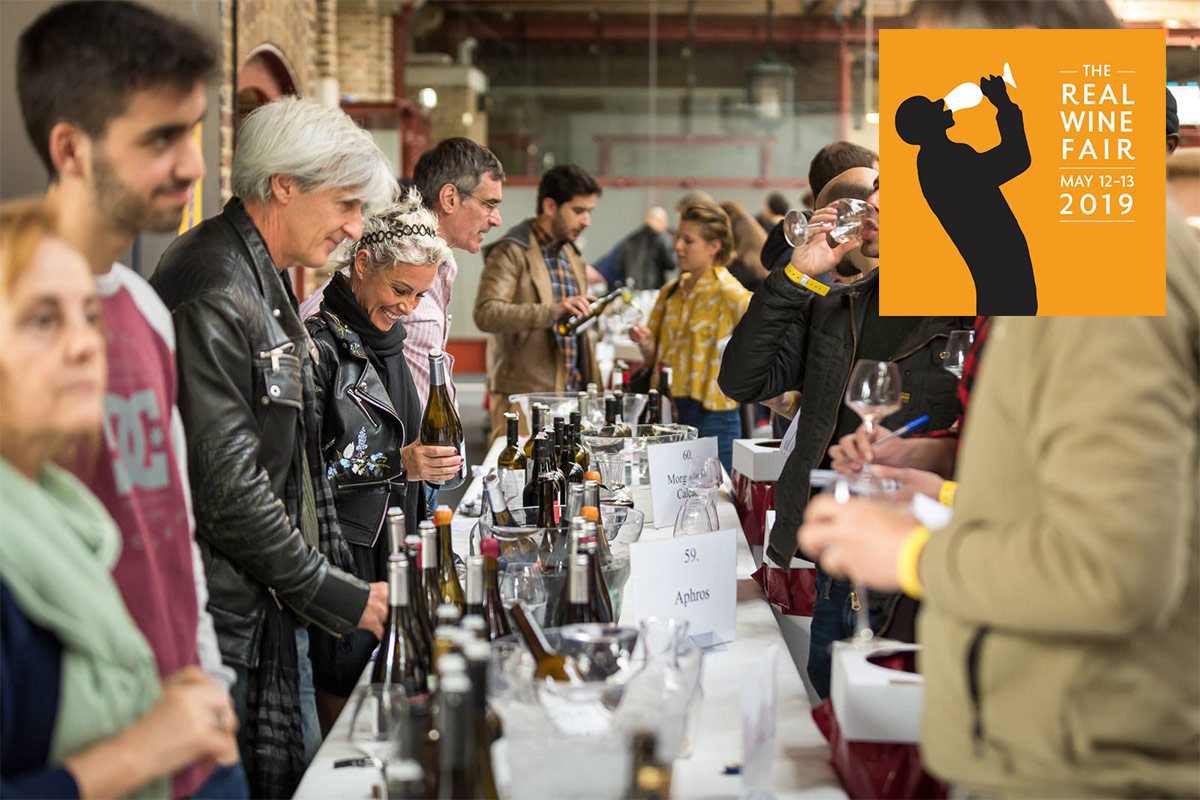 The Real Wine Fair: 12th & 13th* May 2019