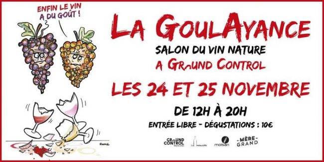 Salon du vin nature : La GoulAyance