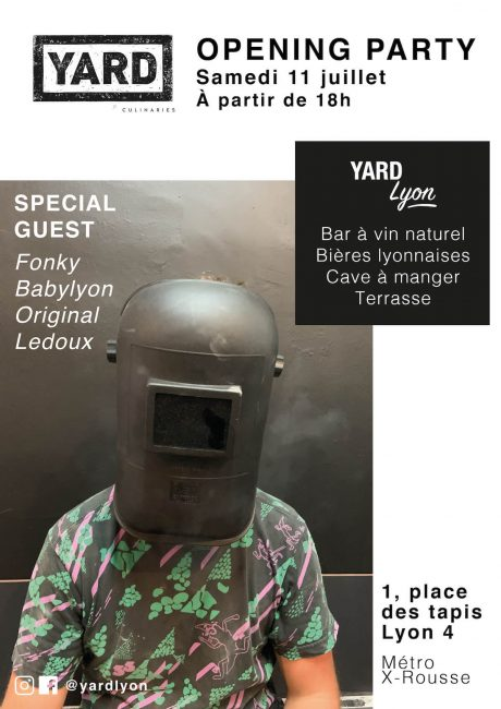 Yard Lyon Opening Party 2020