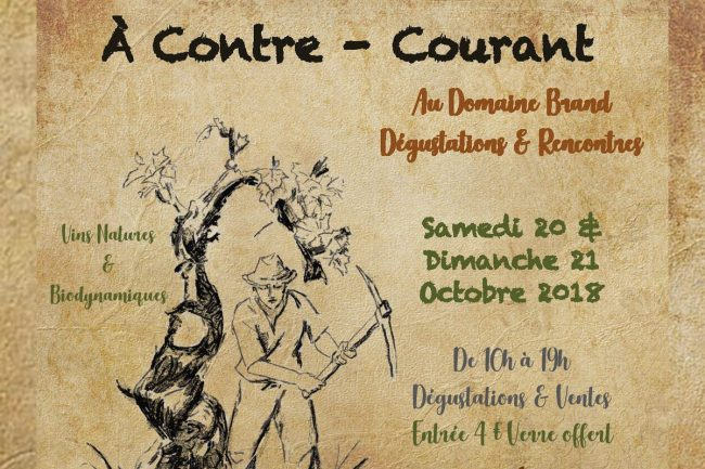 Seconde édition à Contre-Courant : Dégustations & Rencontres