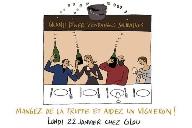 GRAND DÎNER Vendanges Solidaires