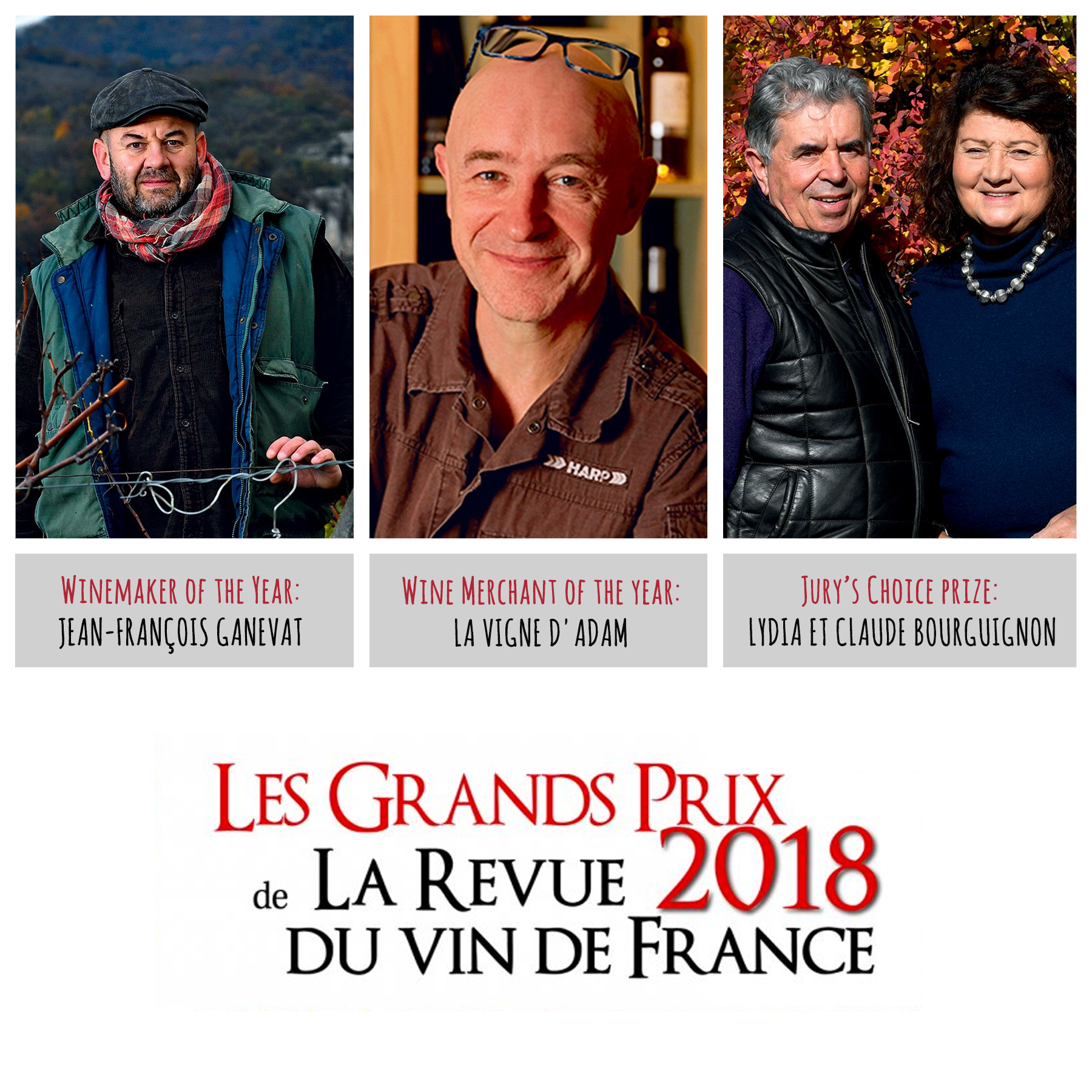 2018 « Revue du Vin de France »'s Grand Prize: power to natural wine!