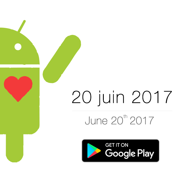 LA VERSION ANDROID DE RAISIN SORT LE 20 JUIN 2017