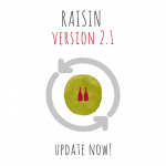 PLEASE, UPDATE RAISIN 2.1 ON iOS